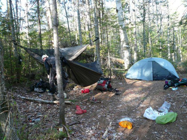 Knoll campsite