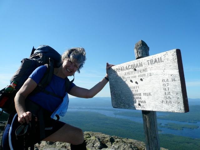 Auntie Mame / summit Avery Peak