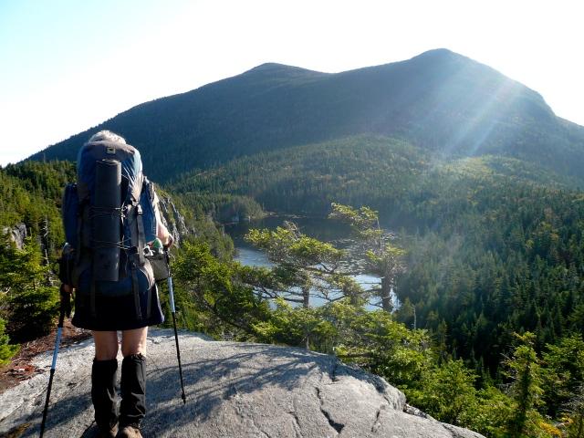 AM  Overlook toward Horns Pond