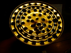 Bottom of inner can with 1/4# hole pattern