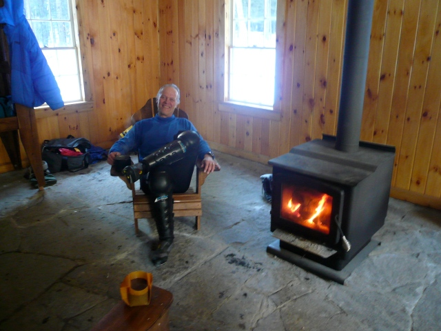 Uncle Tom at One of His Cabins