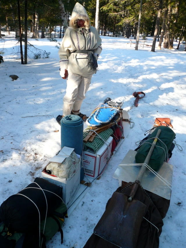 V8 Surveying the Pack Job