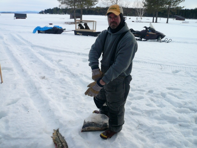 Kevin and lake trout