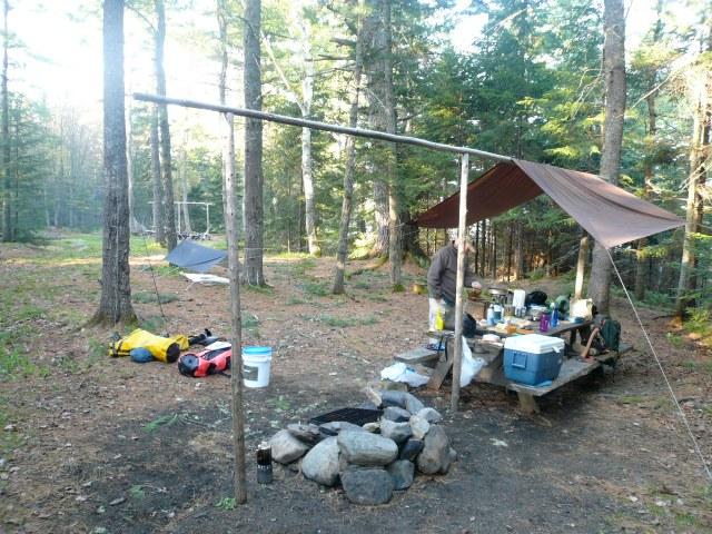 Lock Dam campsite