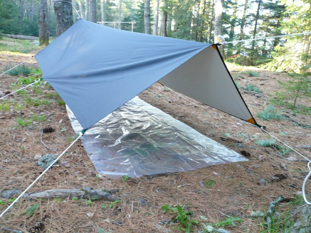 Sleeping tarp