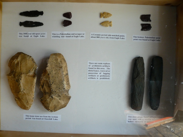 Native artifacts from AWW