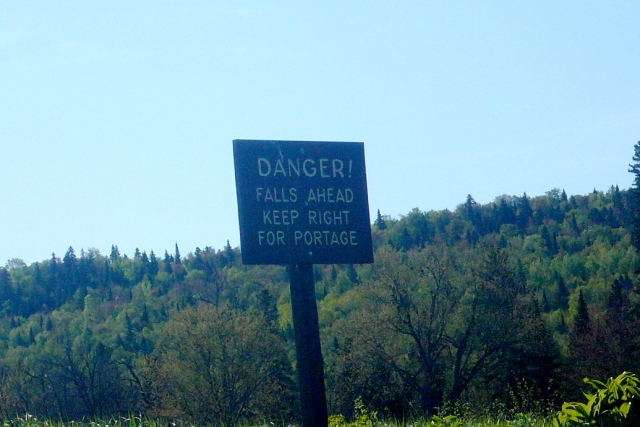 Danger ahead!