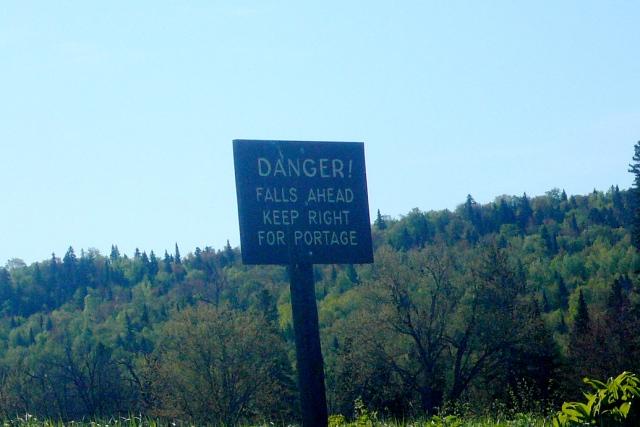 Danger ahead!