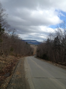 Camden Hills from Moody Mountain Road