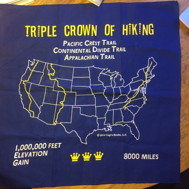 Yogi's Triple Crown bandanna