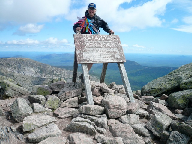 Me on the Summit of Baxter (2009)
