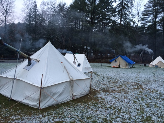 Tent City at Snow Walkers' (2013)