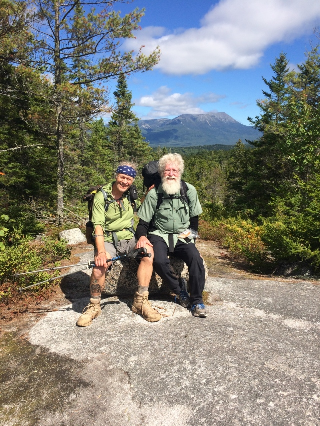 Two old friends near Katahdin