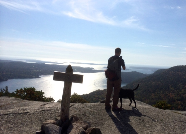 Atop Acadia Mountain