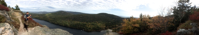 Panorama  from Beech Mountain