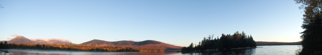 Katahdin to the Turners - Panorama