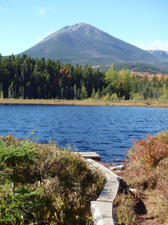Katahdin from Martin Pond