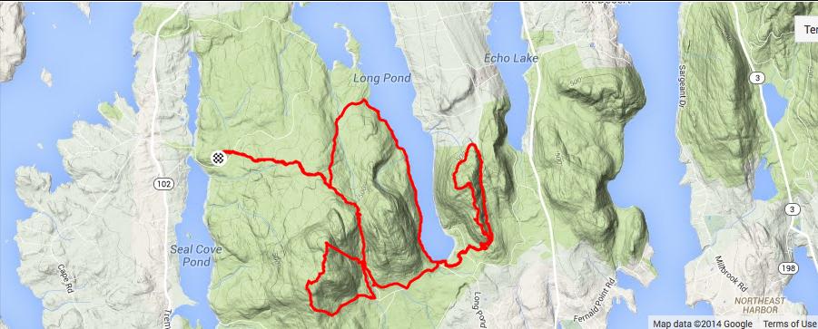 A superb hike in Acadia National Park Tom Jamrogs Weblog