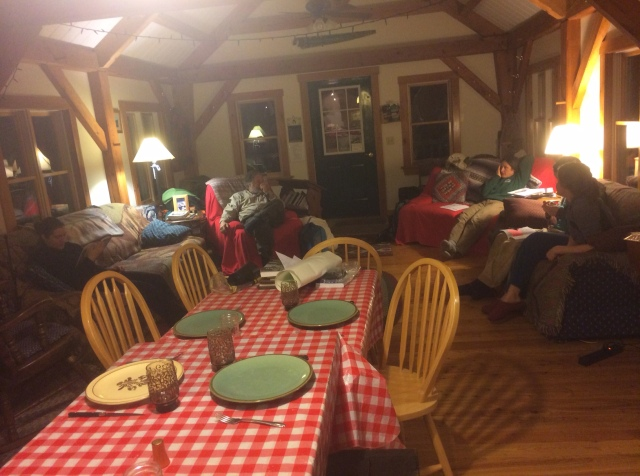 Common room upstairs at The Lodge