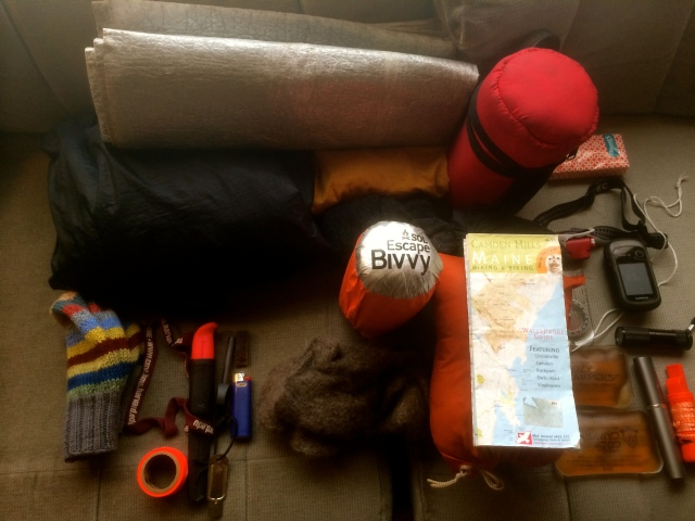 What's in my winter day pack