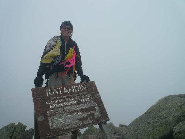Me atop Katahdin in 2007