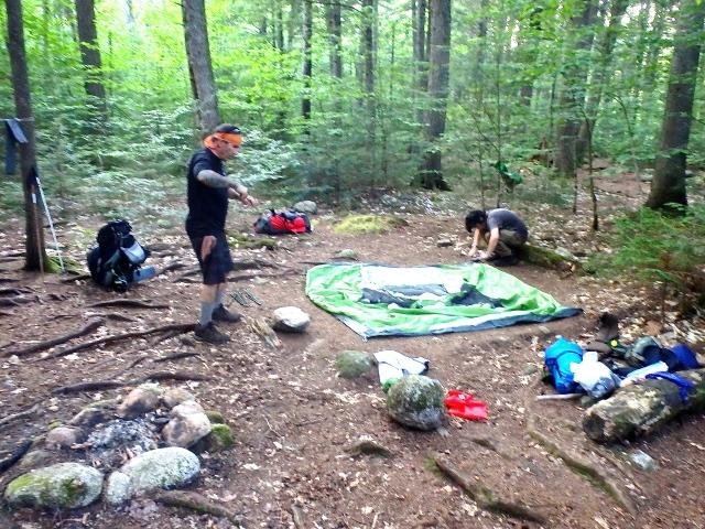 Nahmakanta Stream Campsite