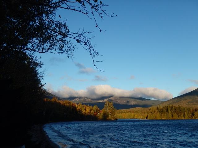 Katahdin from Katahdin lake