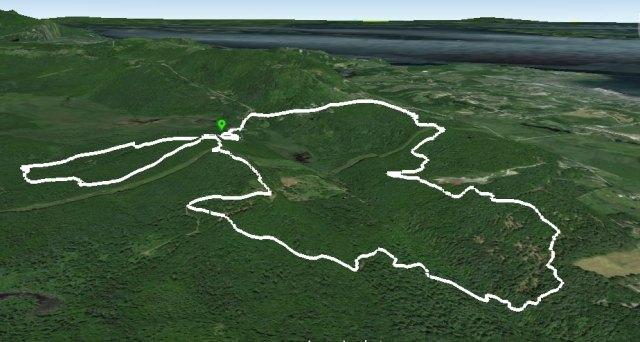 Rockland Bog Trails from Bog. Rd.