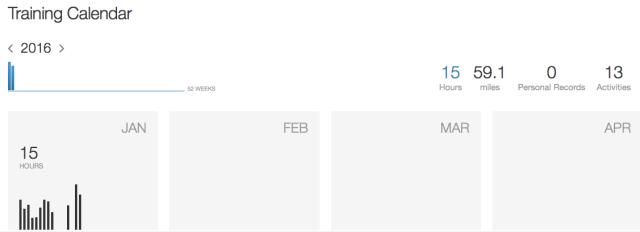 January data