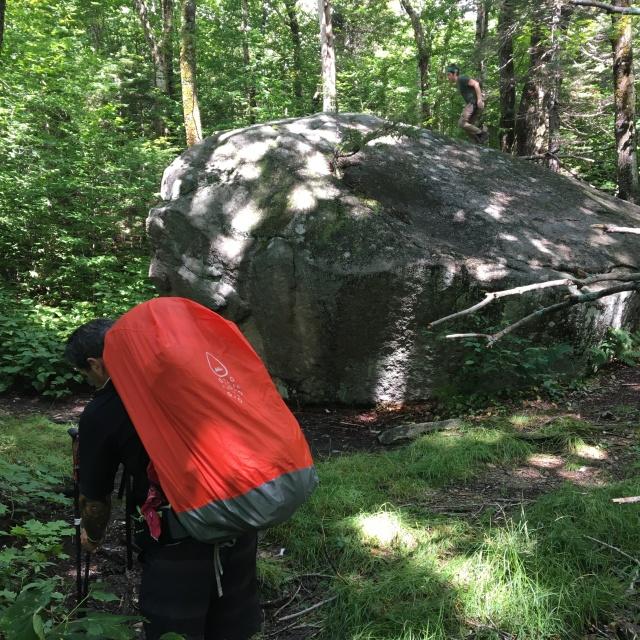 Boulders abound