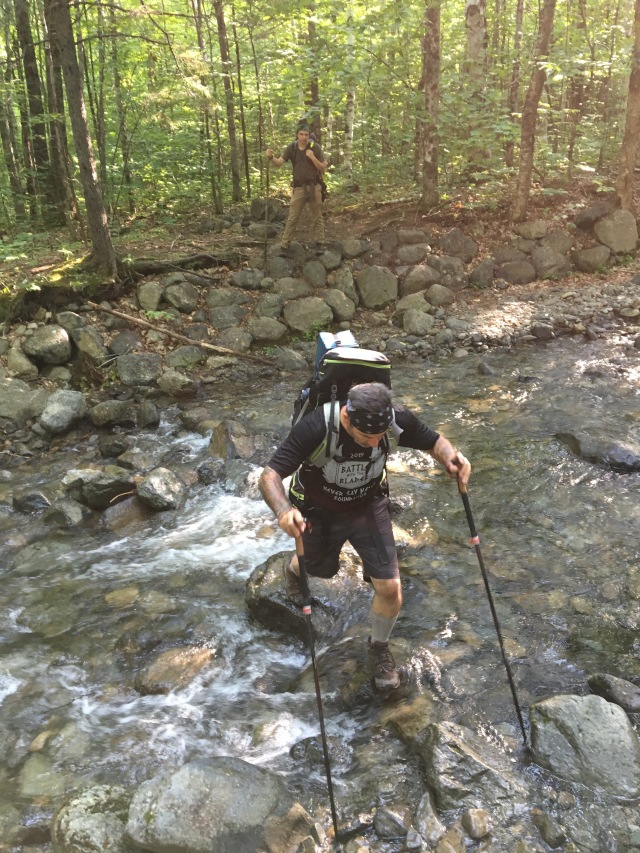 Crossing Howe Brook